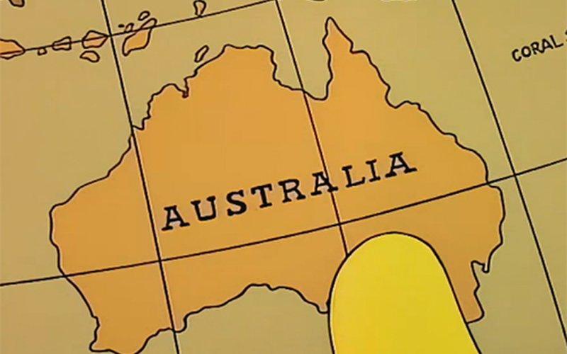 Map Of Australia Video.Video Roundup Happy Australia Day